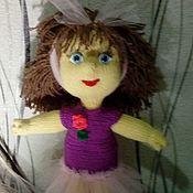 Мягкие игрушки ручной работы. Ярмарка Мастеров - ручная работа Вязаная кукла. Handmade.
