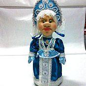 Куклы и игрушки ручной работы. Ярмарка Мастеров - ручная работа игрушка под ёлку Снегурочка. Handmade.