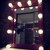 Для дома и интерьера ручной работы. Ярмарка Мастеров - ручная работа Гримерное зеркало CABERNE.. Handmade.