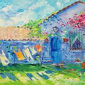 Картины и панно handmade. Livemaster - original item The day warmed by the sun. Oil painting. Handmade.