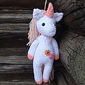 Мягкие игрушки ручной работы. Ярмарка Мастеров - ручная работа Мягкие игрушки: Пони, Единорожка. Handmade.
