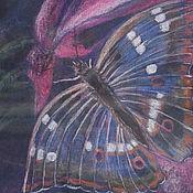 Картины ручной работы. Ярмарка Мастеров - ручная работа Бабочка пастелью. Handmade.