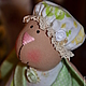 Куклы Тильды ручной работы. Яблочная зайка. Елена (elenadollworld). Ярмарка Мастеров. Заяц, яблочный, холофайбер