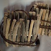 Для дома и интерьера ручной работы. Ярмарка Мастеров - ручная работа Светильник из береговых палочек. Handmade.