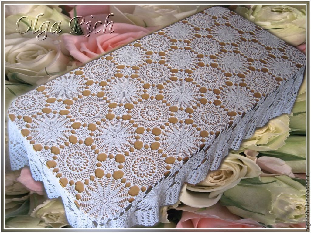 Beautiful tablecloth