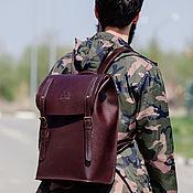Backpacks handmade. Livemaster - original item Portland leather city backpack. Handmade.