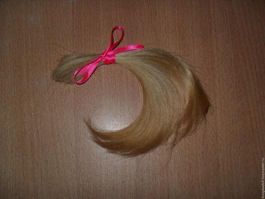 Куклы и игрушки ручной работы. Ярмарка Мастеров - ручная работа. Купить Натуральные волосы в срезе. Handmade. Волосы для рутинга