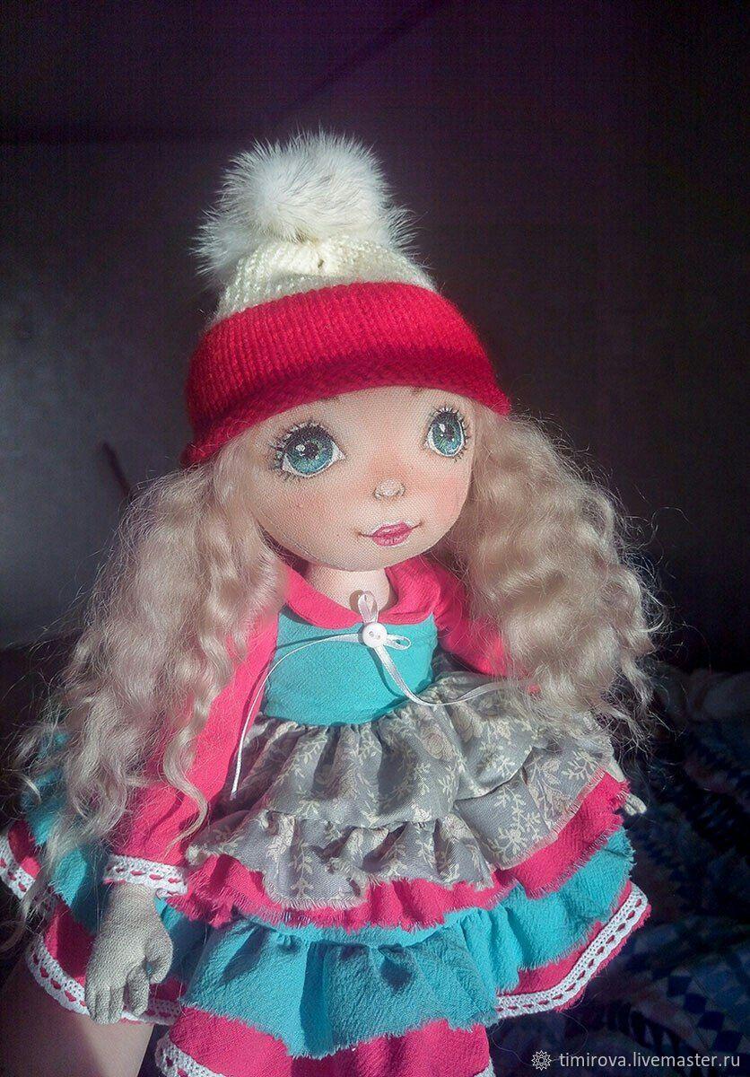 Авторская текстильная кукла- Майя, , Сосновый Бор, Фото №1
