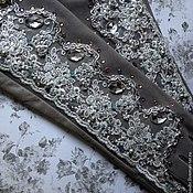 """Аксессуары ручной работы. Ярмарка Мастеров - ручная работа Перчатки""""Рlatinum rosarium """"в стиле DG. Handmade."""