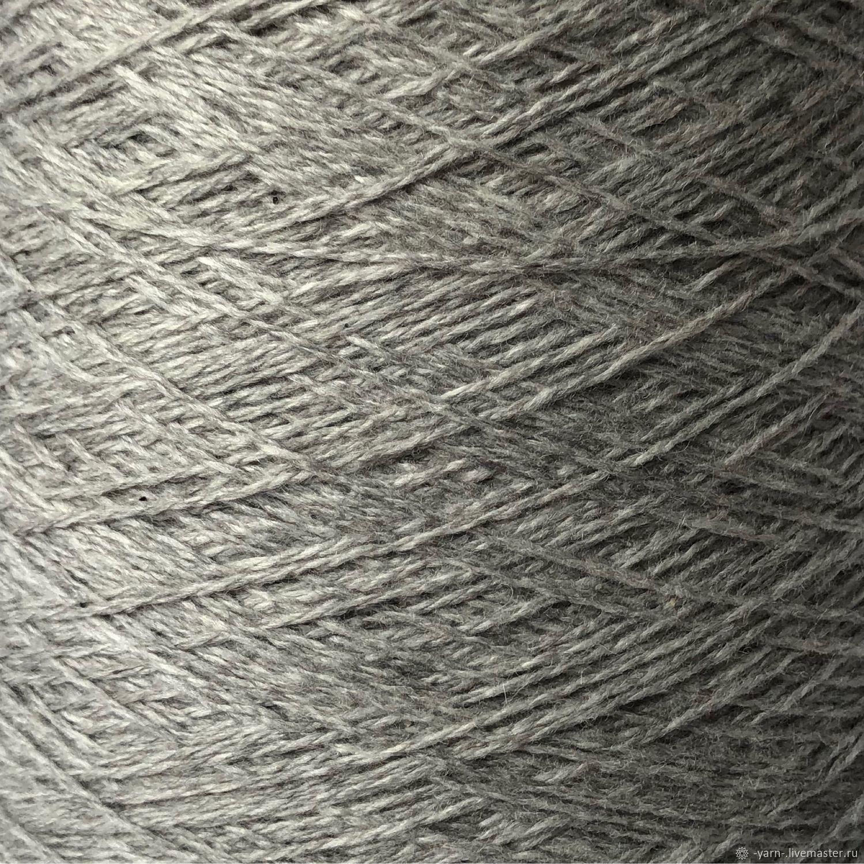 Пряжа Кашемир Coarsehair серый – купить на Ярмарке Мастеров – MOEB8RU | Пряжа, Санкт-Петербург