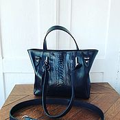 Сумки и аксессуары handmade. Livemaster - original item Bag with ostrich paw leather. Handmade.