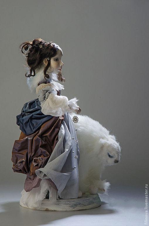 """Коллекционные куклы ручной работы. Ярмарка Мастеров - ручная работа. Купить """"Обитатели зимних снов"""" Художественная кукла. Handmade. Сны"""