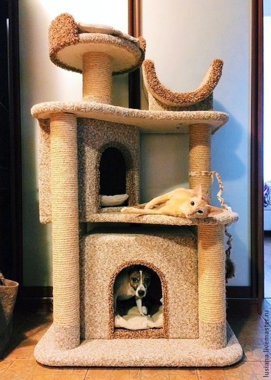 """Аксессуары для кошек, ручной работы. Ярмарка Мастеров - ручная работа. Купить Комплекс для кошек  и собаки """"Вдохновение"""". Handmade. Для кошек"""