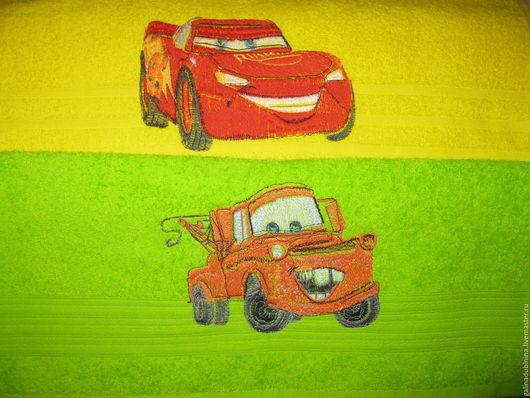 Текстиль, ковры ручной работы. Ярмарка Мастеров - ручная работа. Купить полотенце с машинной вышивкой для деток. Handmade. Комбинированный, для детей