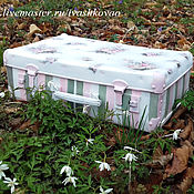 Для дома и интерьера handmade. Livemaster - original item Suitcase Again, ROSES )). Handmade.