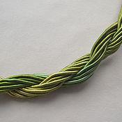 Материалы для творчества handmade. Livemaster - original item Thick viscose cord (no. №16), price per 1 meter. Handmade.