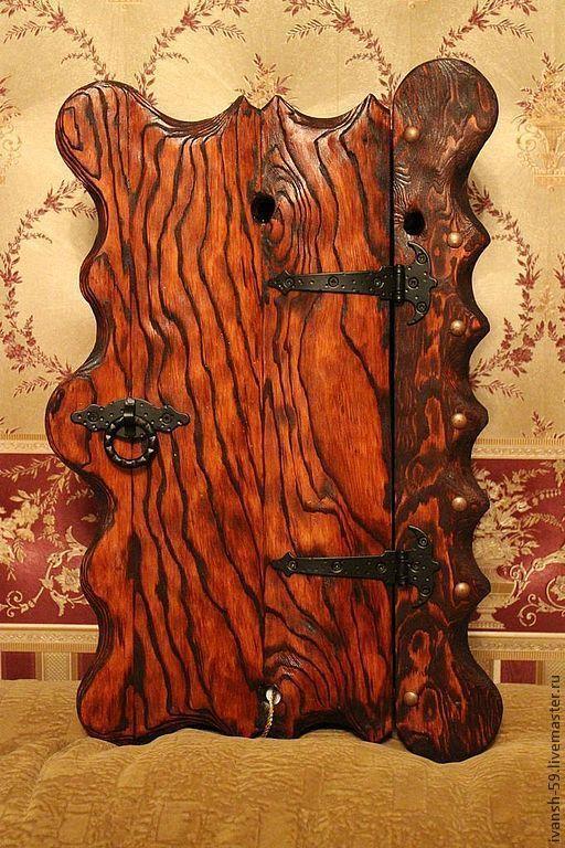 Прихожая ручной работы. Ярмарка Мастеров - ручная работа. Купить Ключница № 2 деревянная. Handmade. Ключница, ключница из дерева