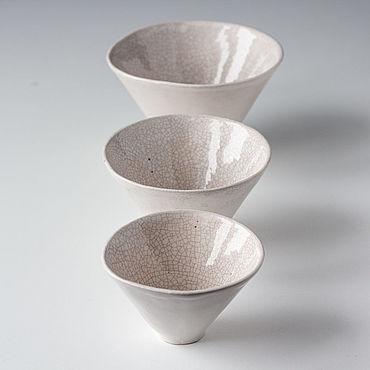 Посуда ручной работы. Ярмарка Мастеров - ручная работа Пиалы керамические Конус. Handmade.