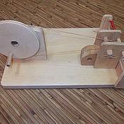Материалы для творчества ручной работы. Ярмарка Мастеров - ручная работа Приспособление для намотки коклюшек. Handmade.