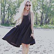 """Платья ручной работы. Ярмарка Мастеров - ручная работа Платье свободного кроя """"Black style"""". Handmade."""