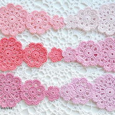 Materials for creativity handmade. Livemaster - original item A set of knitted items Berry. Handmade.