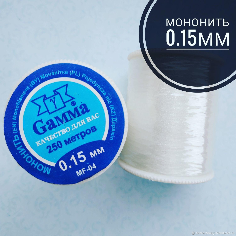 Мононить 0.15мм, Нитки, Пермь,  Фото №1