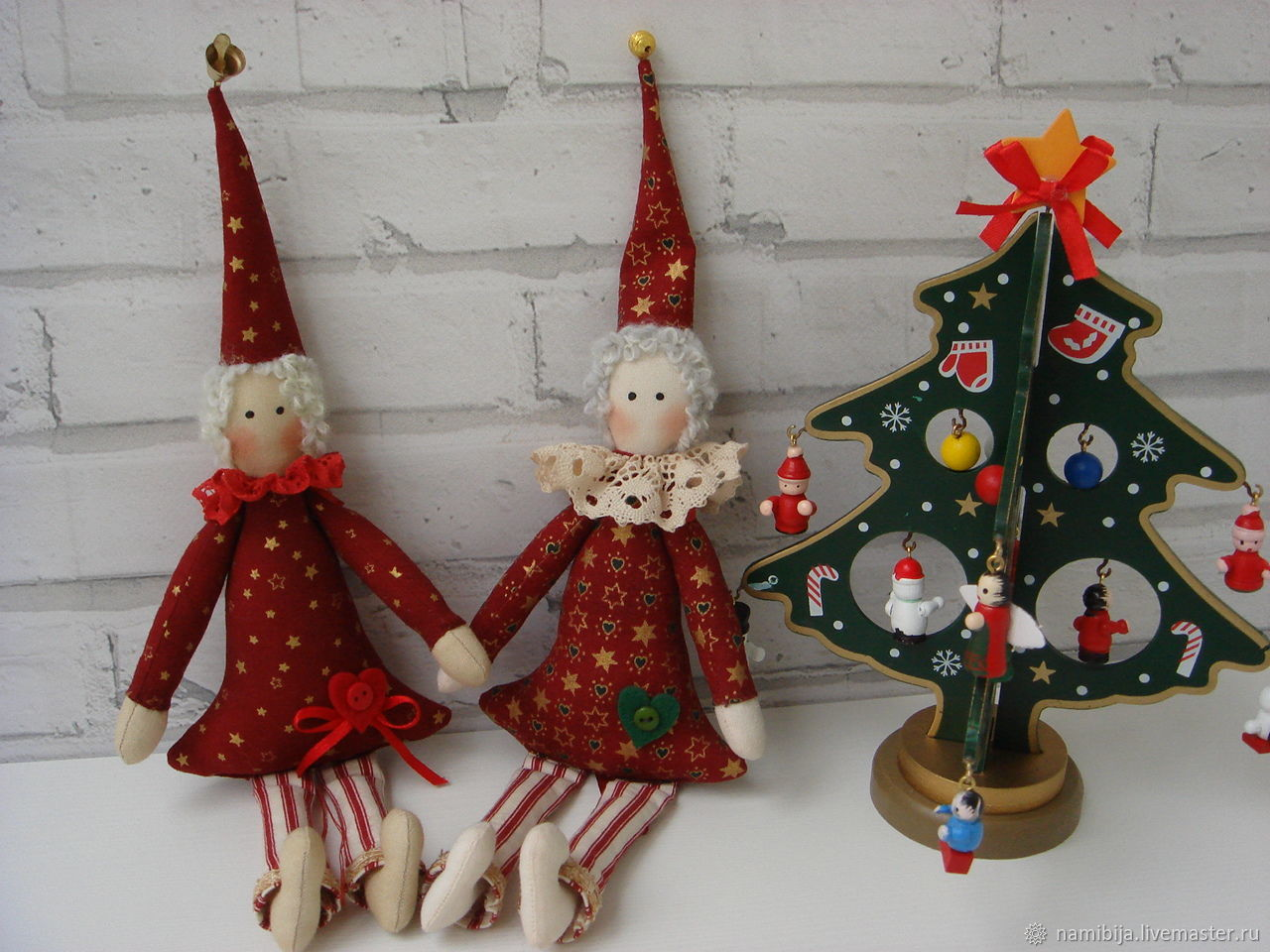 Новогодние Гномики, Куклы Тильда, Санкт-Петербург,  Фото №1