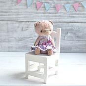 Куклы и игрушки ручной работы. Ярмарка Мастеров - ручная работа Мишка тедди Мила. Handmade.