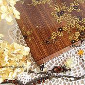 """Для дома и интерьера ручной работы. Ярмарка Мастеров - ручная работа Шкатулка """"Золота цвет"""". Handmade."""