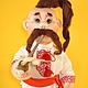 Коллекционные куклы ручной работы. Куклы в украинском стиле. Куклы в технике скульптурный текстиль. №2. mastersofi  (Любовь). Ярмарка Мастеров.