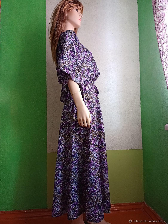 Light and spacious dress made of acetate silk, Dresses, Novosibirsk,  Фото №1
