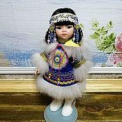 """Одежда для кукол ручной работы. Ярмарка Мастеров - ручная работа Аутфит """"Якутяночка"""" для кукол Паола Рейна. Handmade."""