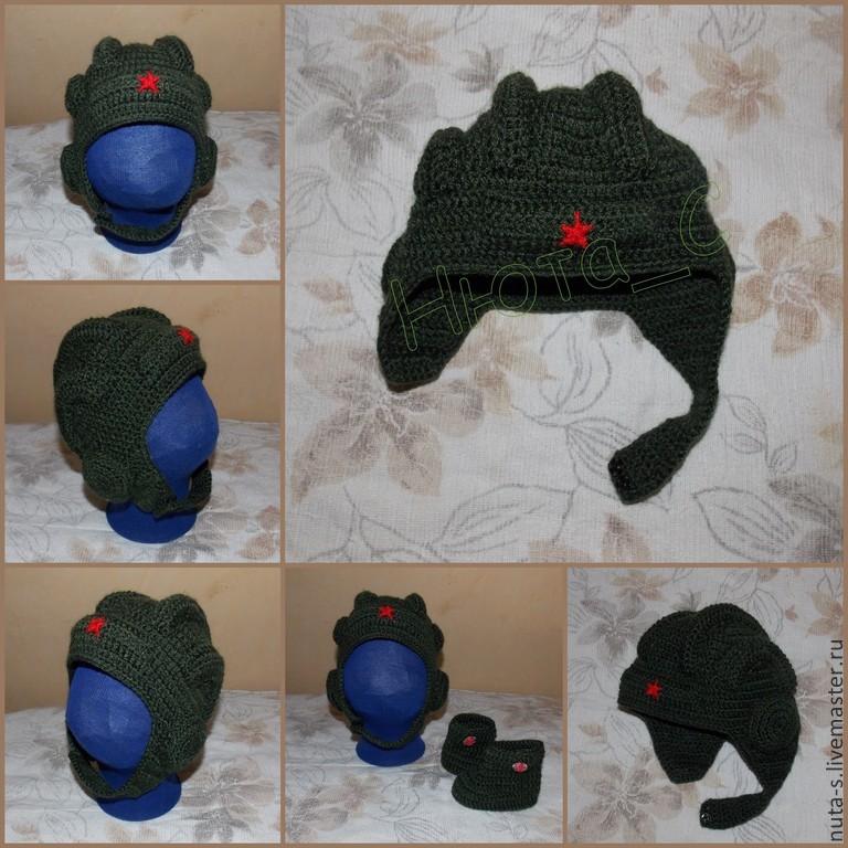 Шлем шапка детская мастер класс инструкция #9