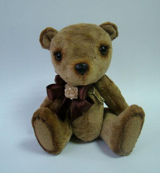 """Мишки Тедди ручной работы. Ярмарка Мастеров - ручная работа. Купить Медвежонок """" Барни"""". Handmade. Коричневый, медвежонок"""