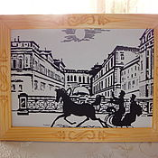 Сувениры и подарки handmade. Livemaster - original item carved photo frame and paintings. Handmade.