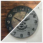 Для дома и интерьера handmade. Livemaster - original item Wall clock large 45 and 50 cm. Handmade.