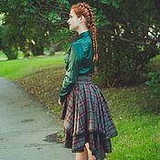 Одежда ручной работы. Ярмарка Мастеров - ручная работа Юбка-красавица Irish rose. Handmade.