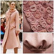 """Одежда ручной работы. Ярмарка Мастеров - ручная работа Пальто """"Розовый жемчуг"""". Handmade."""