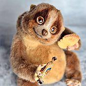 Куклы и игрушки ручной работы. Ярмарка Мастеров - ручная работа Лори Коко коллекционная игрушка толстый лори тедди. Handmade.