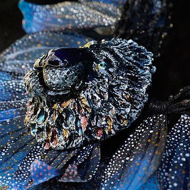 """Украшения ручной работы. Ярмарка Мастеров - ручная работа """"Морской Лев. Владыка Великих Вод"""" - пышное колье под шейку. Handmade."""