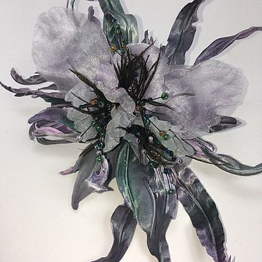 """Свадебный салон ручной работы. Ярмарка Мастеров - ручная работа Фантазийная орхидея """"Глория"""". Handmade."""