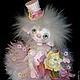 Коллекционные куклы ручной работы. кукла Розочка полимерная глина. Маргарита Дроздова. Интернет-магазин Ярмарка Мастеров. Авторская кукла