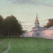 Картины и панно handmade. Livemaster - original item The interior paintings of Izmailovo Moscow watercolor. Handmade.