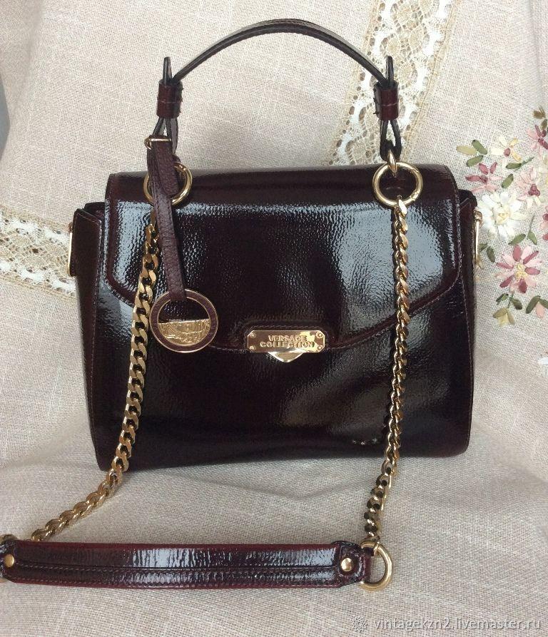 d4ae82101c17 ручной работы. Ярмарка Мастеров - ручная работа. Купить Дизайнерская женская  сумка Италия кожаная темно ...
