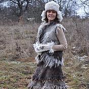 Одежда ручной работы. Ярмарка Мастеров - ручная работа Валяный комплект Дитя природы. Handmade.