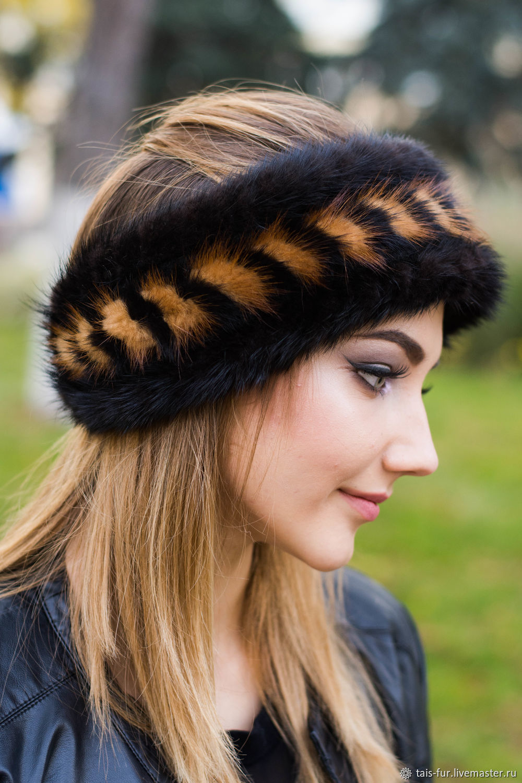 как носить меховую повязку на голове фото порядку может перерастать