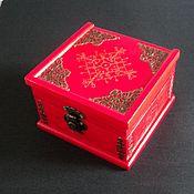 Фен-шуй и эзотерика handmade. Livemaster - original item Place of Power red box for amulets and talismans.. Handmade.