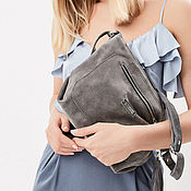 Сумки и аксессуары handmade. Livemaster - original item Bag with shoulder strap with three pockets. Handmade.