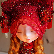 Куклы и пупсы ручной работы. Ярмарка Мастеров - ручная работа Пташка Аглая.Коллекционная кукла. Handmade.