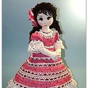 Куклы и игрушки ручной работы. Ярмарка Мастеров - ручная работа Текстильная кукла Кармелия.. Handmade.